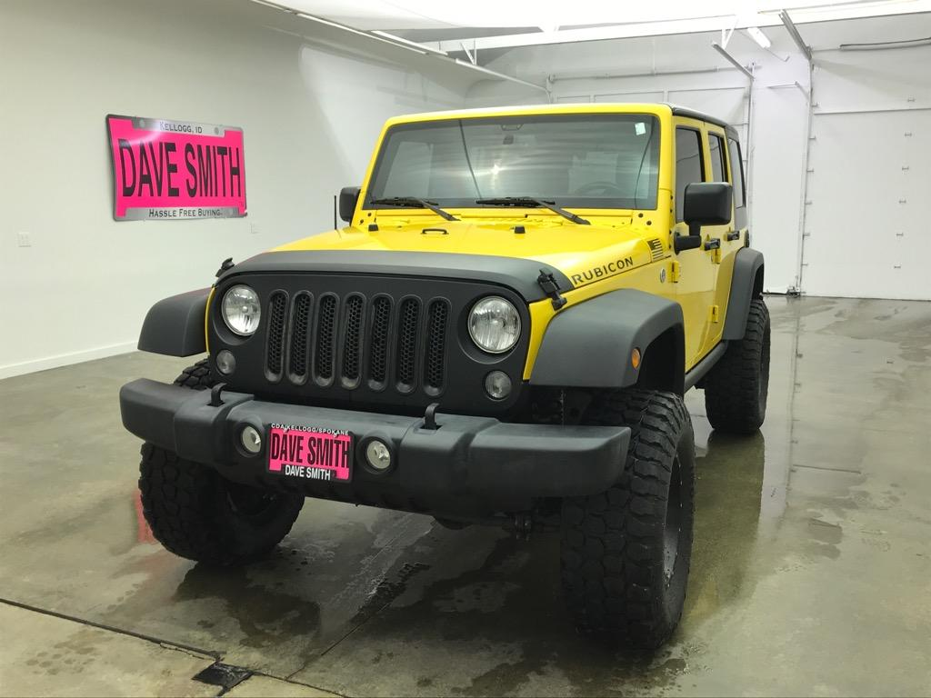 Pre-Owned 2015 Jeep Rubicon