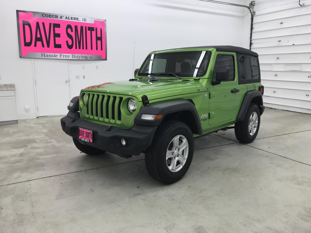 Pre-Owned 2018 Jeep Sport S