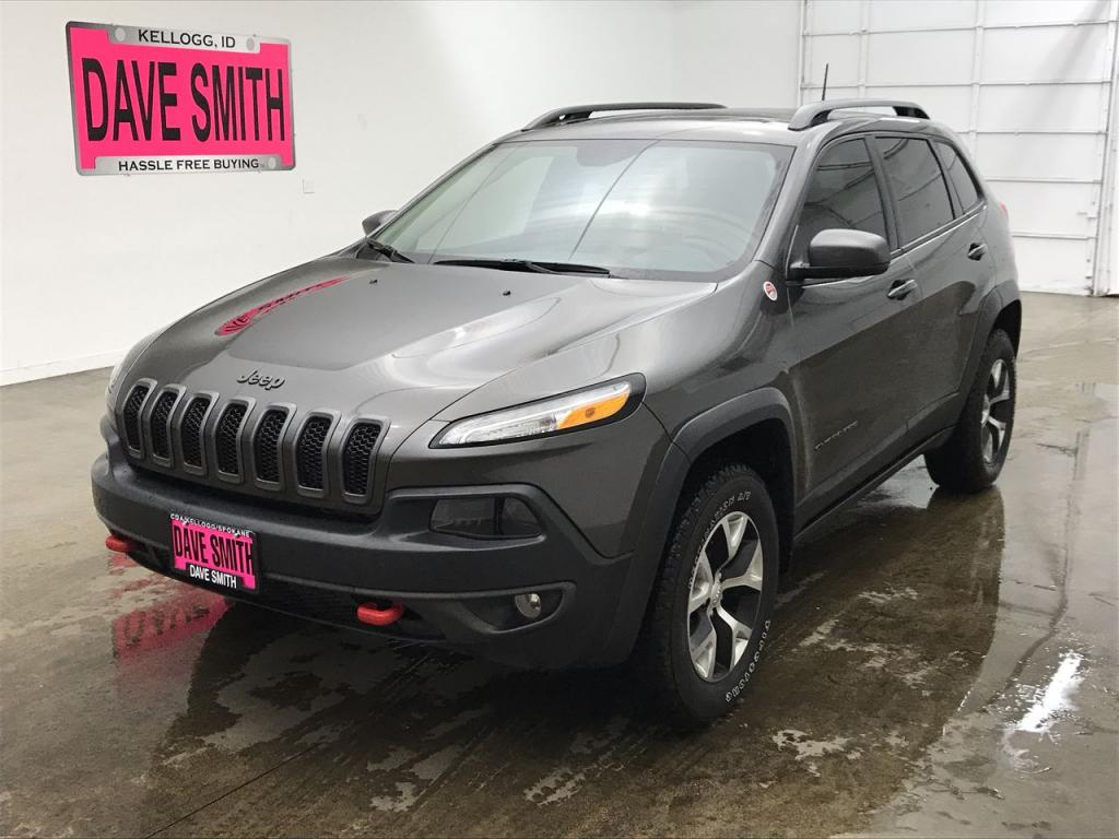 Certified Pre-Owned 2017 Jeep Trailhawk L Plus
