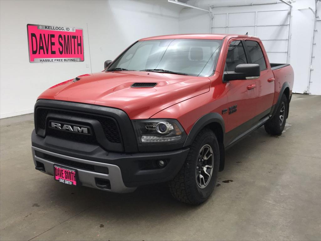 Pre-Owned 2017 Ram Rebel Crew Cab Short Box
