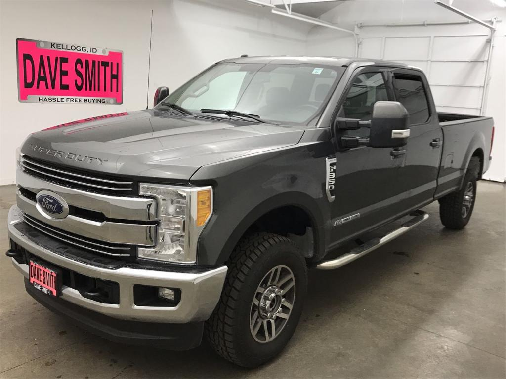 Pre-Owned 2017 Ford Lariat Crew Cab Long Box
