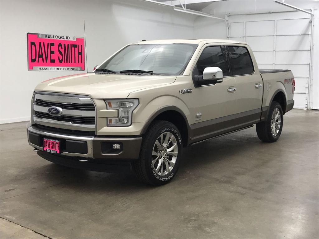Pre-Owned 2017 Ford King Ranch Crew Cab Short Box