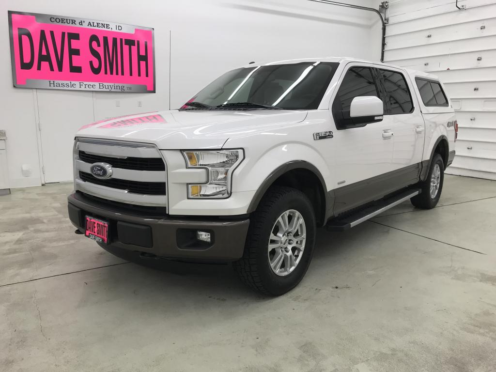 Pre-Owned 2016 Ford Crew Cab Short Box