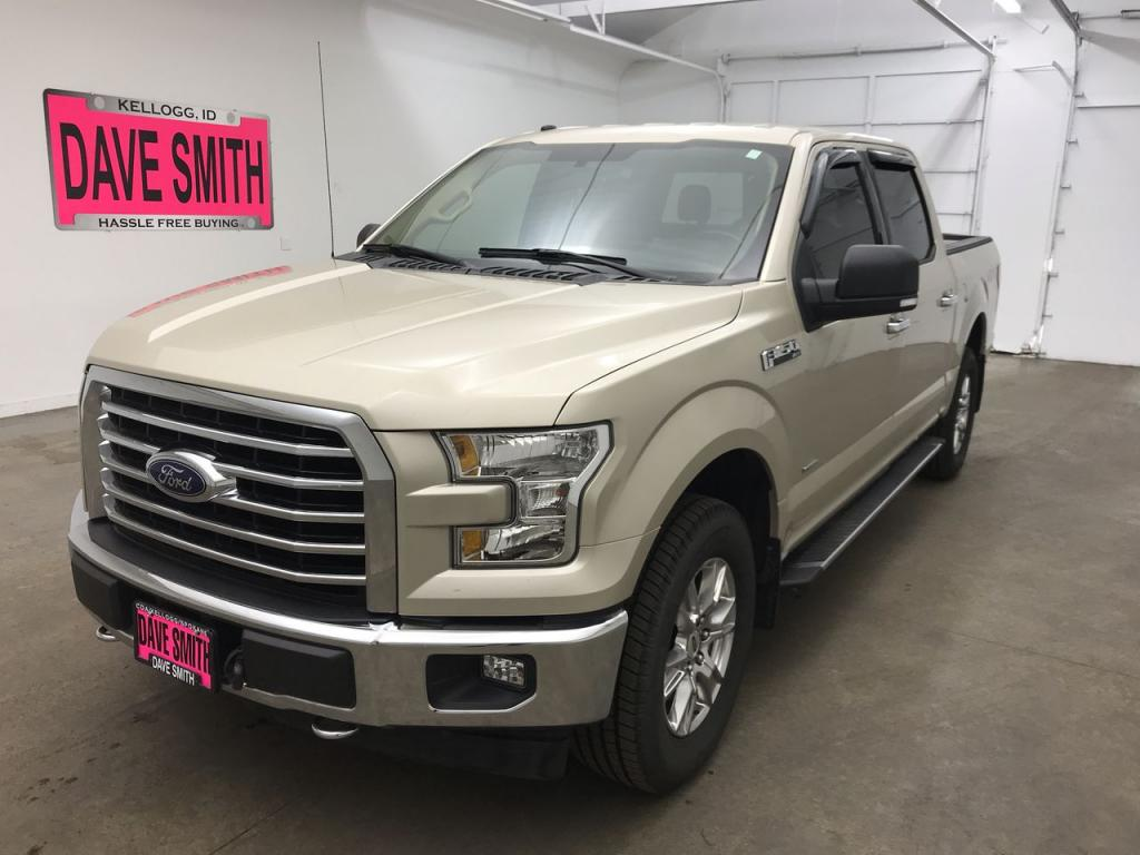 Pre-Owned 2017 Ford XLT Crew Cab Short Box