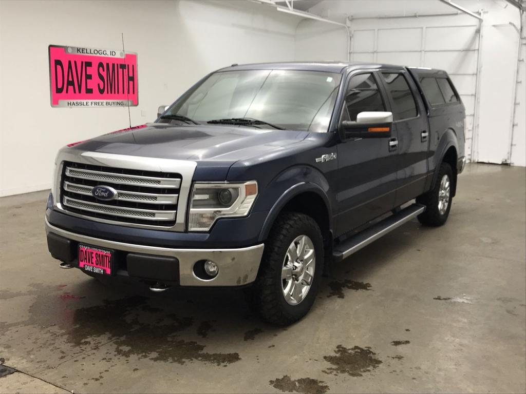 Pre-Owned 2013 Ford Crew Cab Short Box