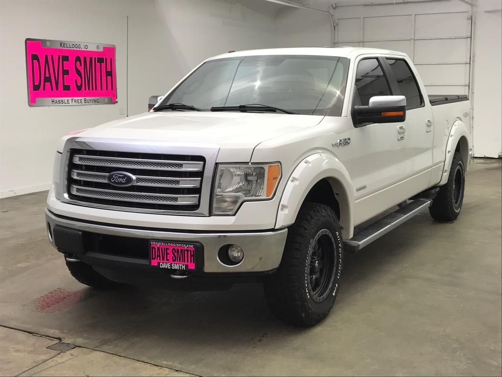 Pre-Owned 2013 Ford Lariat Crew Cab Short Box