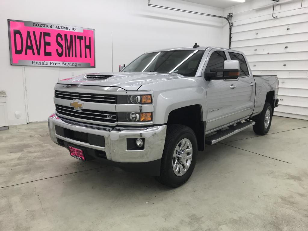 Pre-Owned 2018 Chevrolet LTZ Crew Cab Short Box