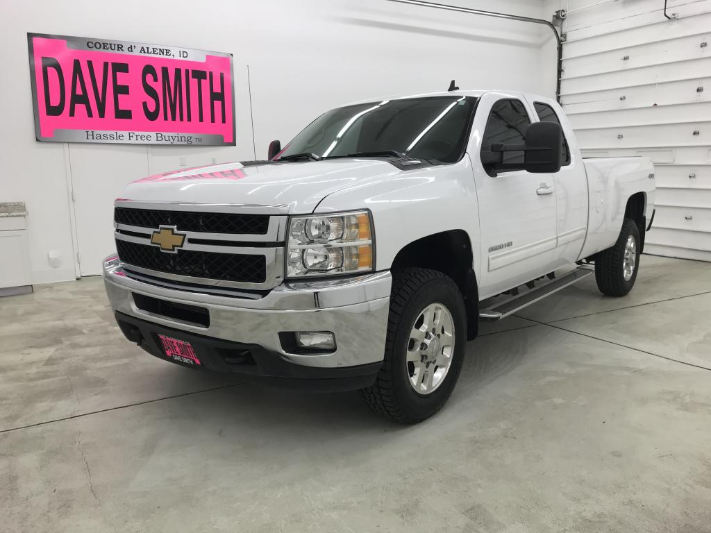 Pre-Owned 2012 Chevrolet LTZ EXT Cab Long Box