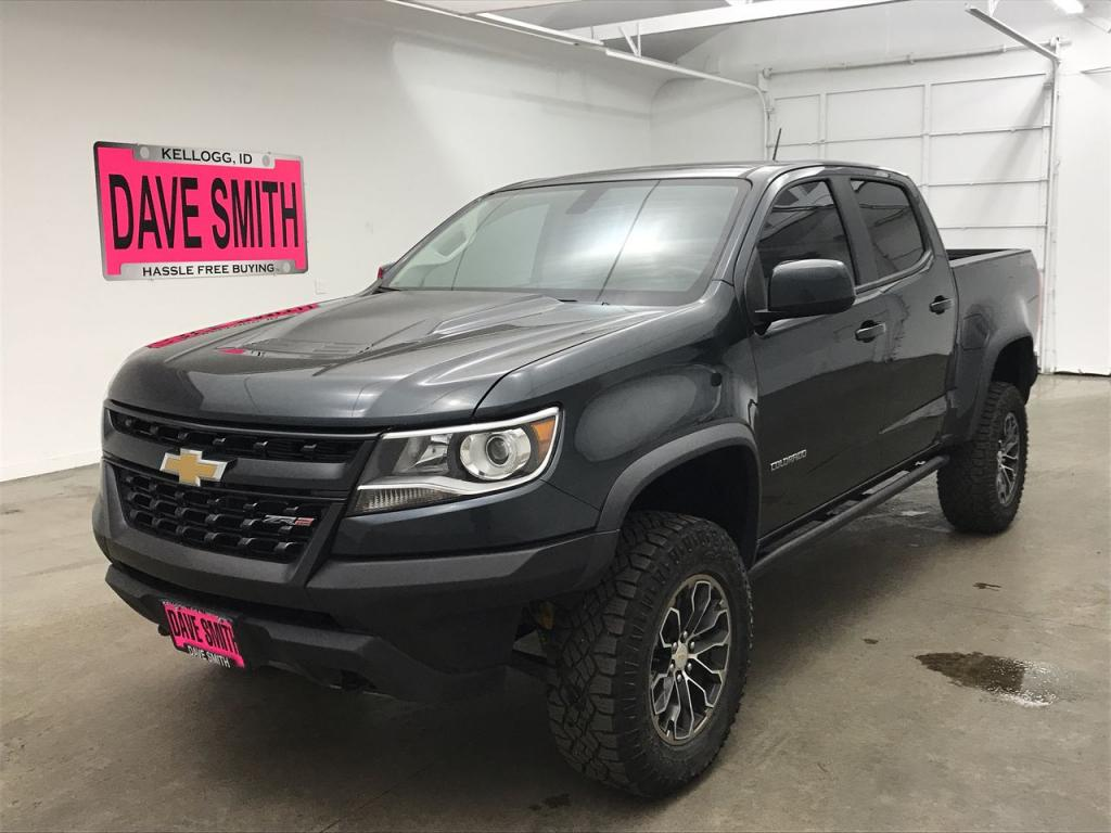 Pre-Owned 2018 Chevrolet 4WD ZR2