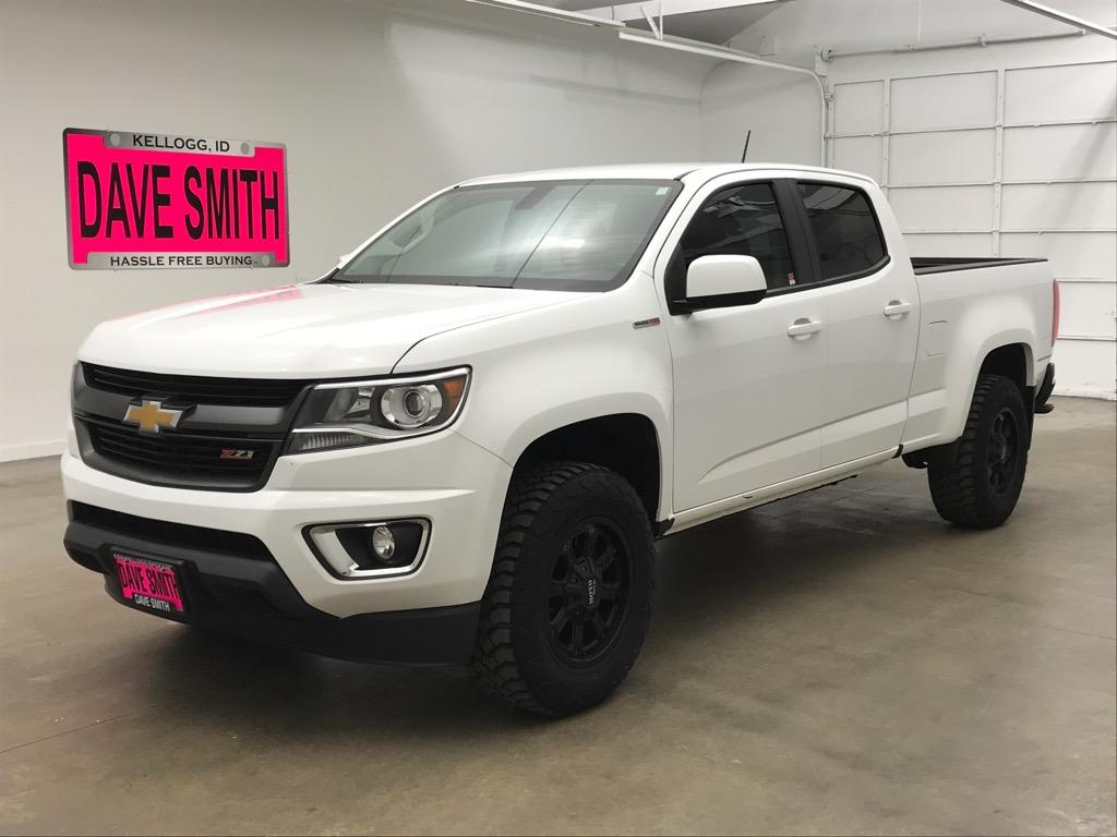 Pre Owned 2017 Chevrolet Z71 Crew Cab Short Box 4wd