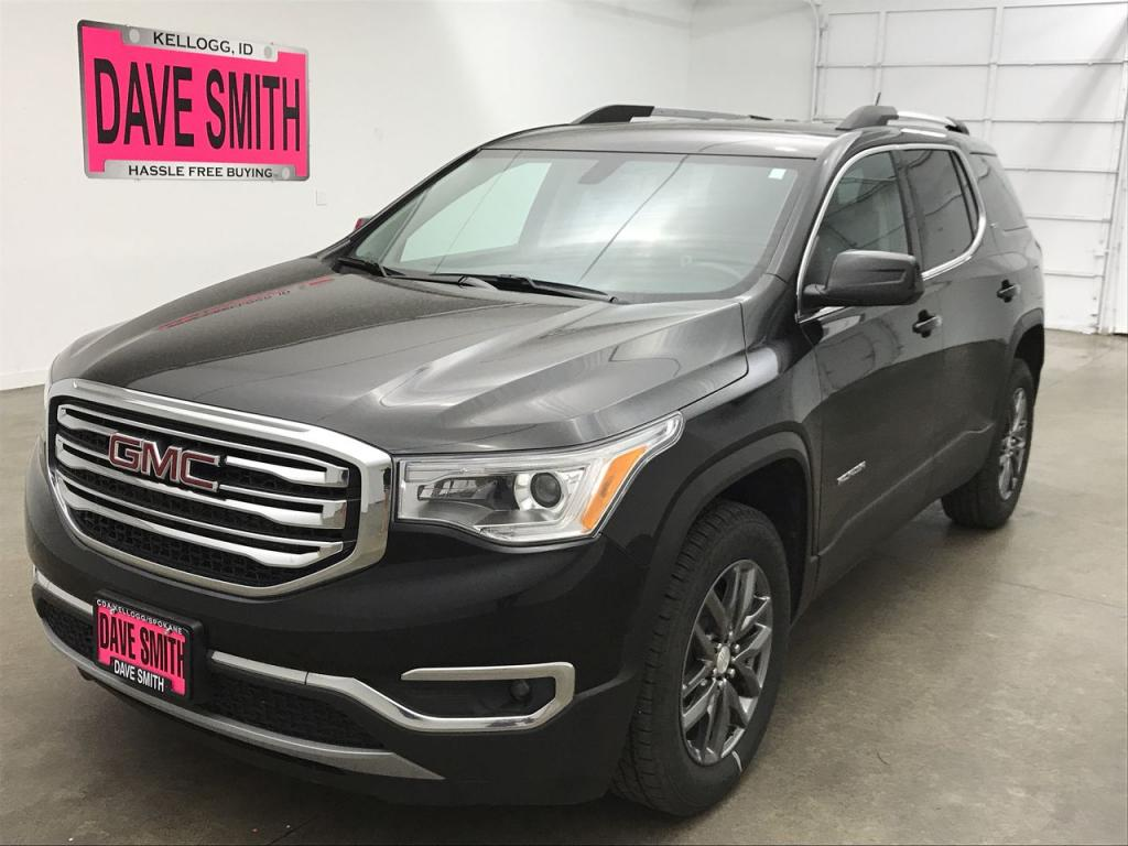 Certified Pre-Owned 2018 GMC SLT