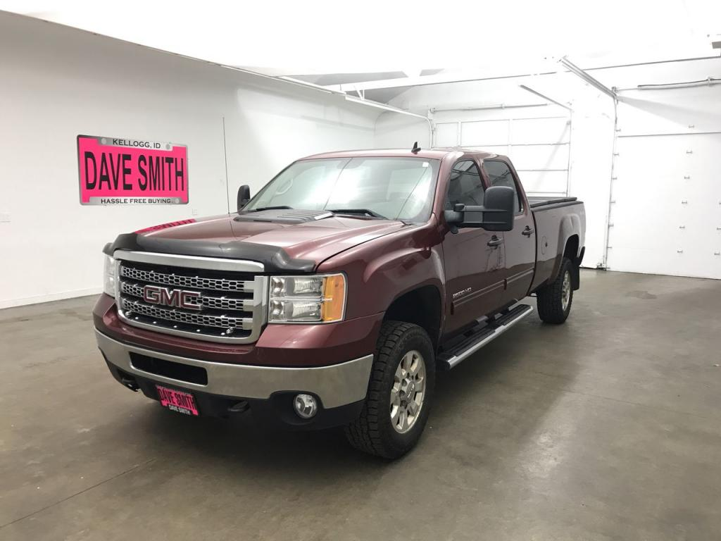 Pre-Owned 2013 GMC SLE Crew Cab Long Box