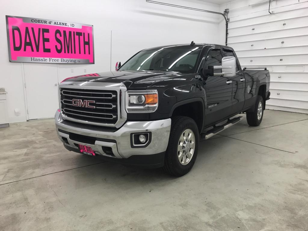 Pre-Owned 2015 GMC SLT EXT Cab Long Box