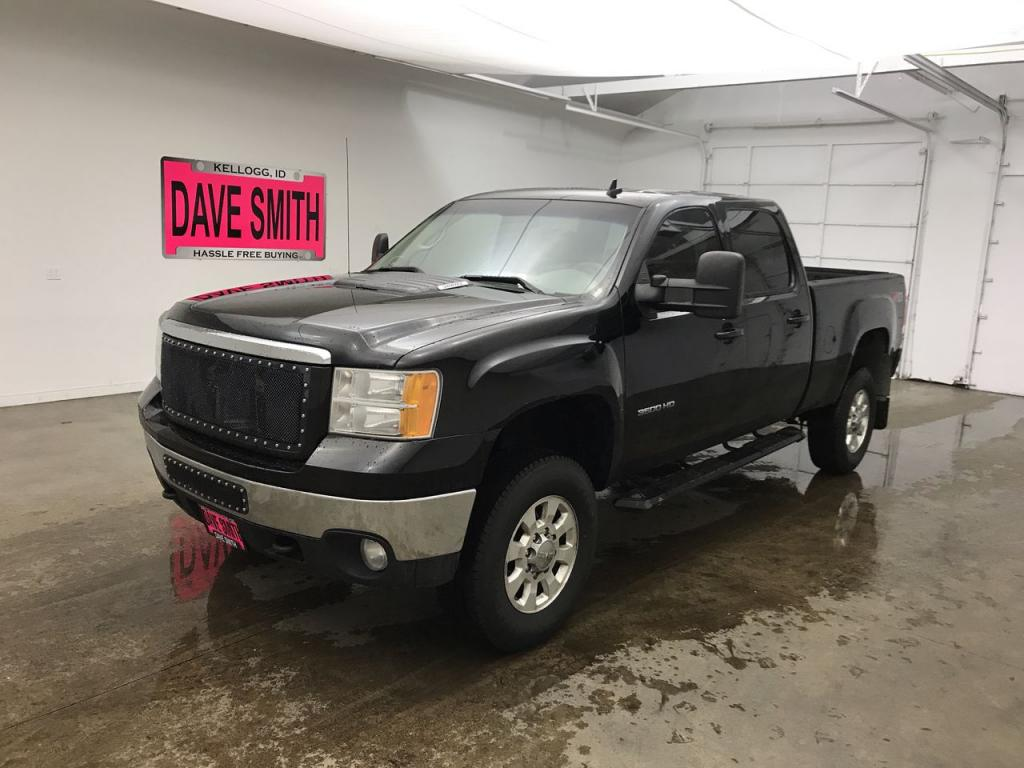 Pre-Owned 2013 GMC SLT Crew Cab Short Box