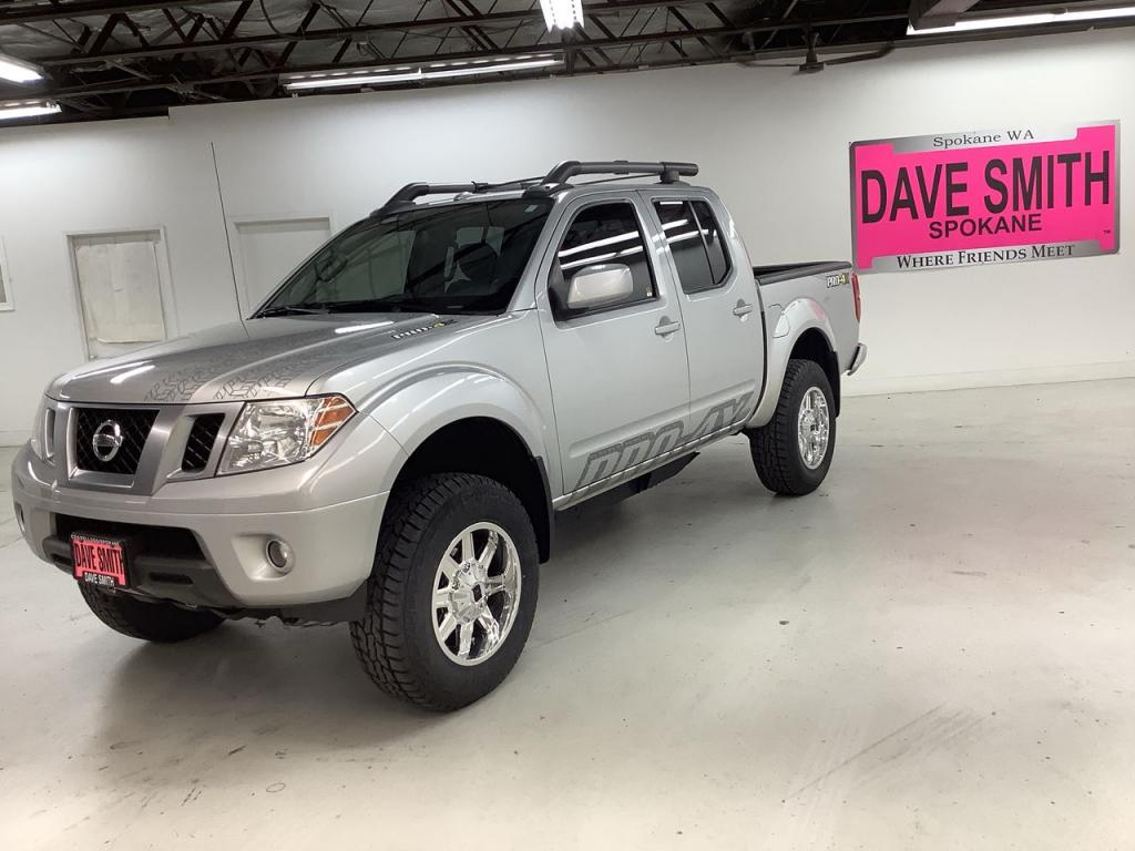 Pre-Owned 2014 Nissan PRO-4X Crew Cab Short Box