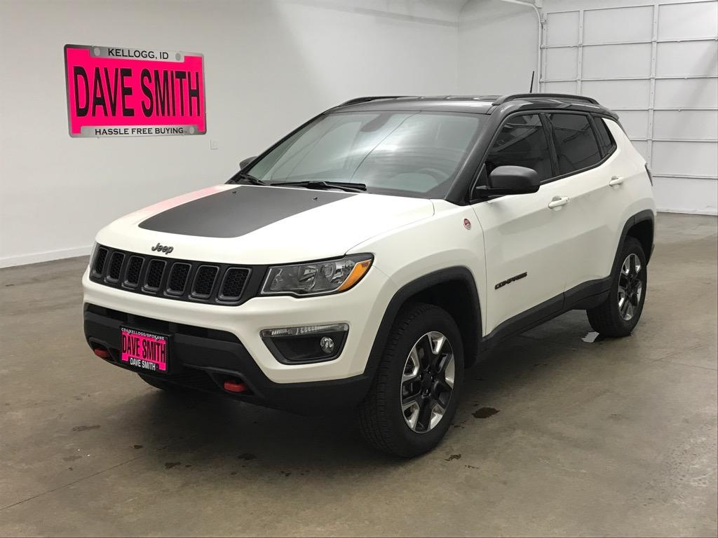 Certified Pre-Owned 2018 Jeep Trailhawk