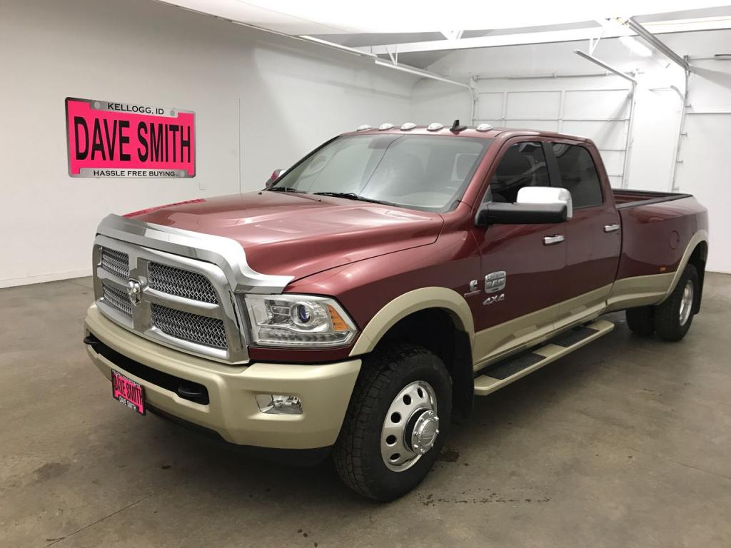 Pre-Owned 2015 Ram Longhorn Crew Cab Long Box