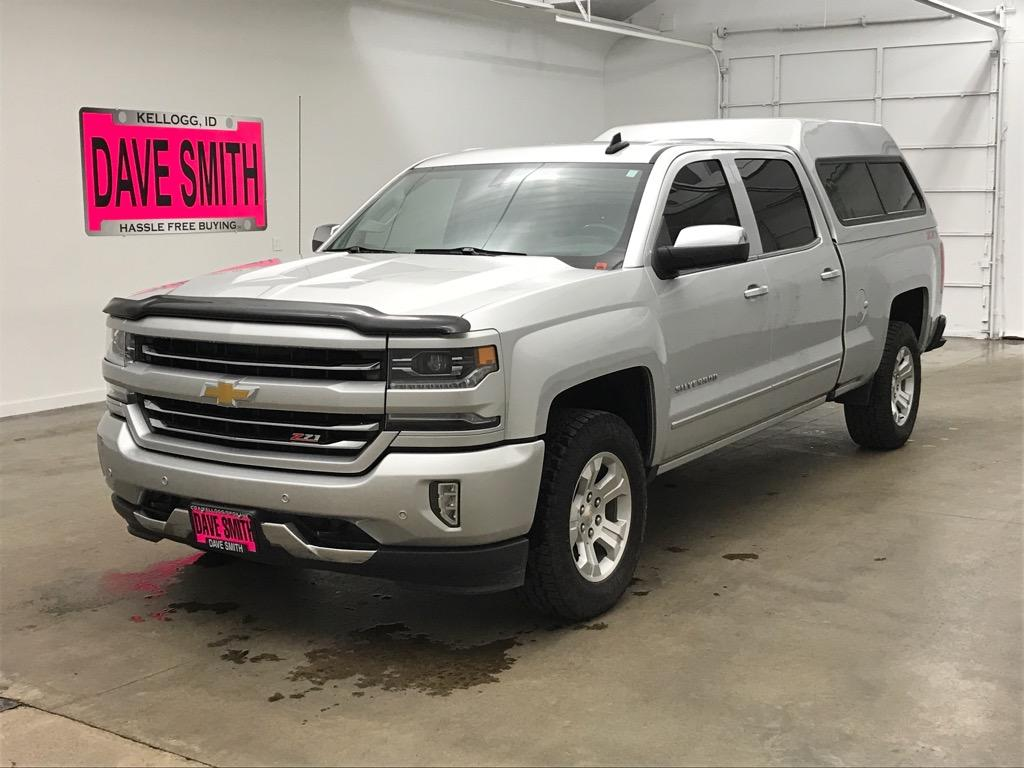 Certified Pre-Owned 2017 Chevrolet LTZ Crew Cab Short Box