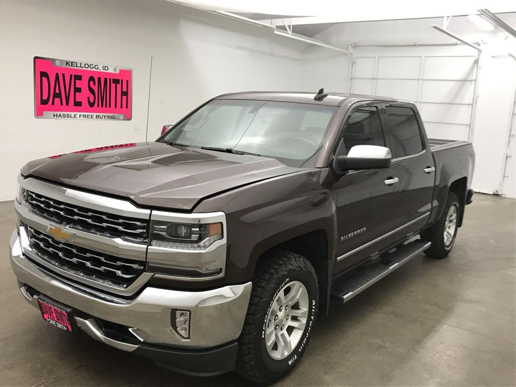 Pre-Owned 2016 Chevrolet LTZ Crew Cab Short Box