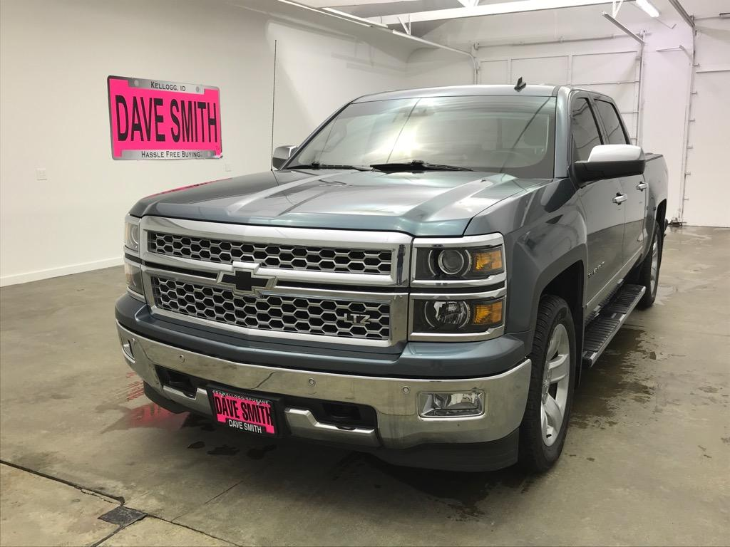 Pre-Owned 2014 Chevrolet LTZ Crew Cab Short Box