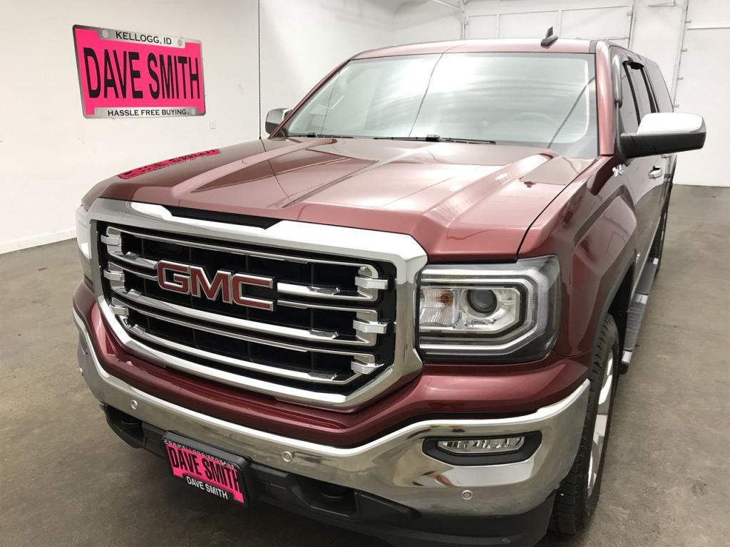 Certified Pre-Owned 2017 GMC SLT Crew Cab Short Box