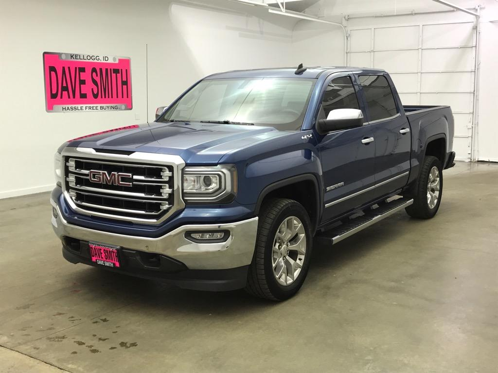 Pre-Owned 2017 GMC SLT Crew Cab Short Box