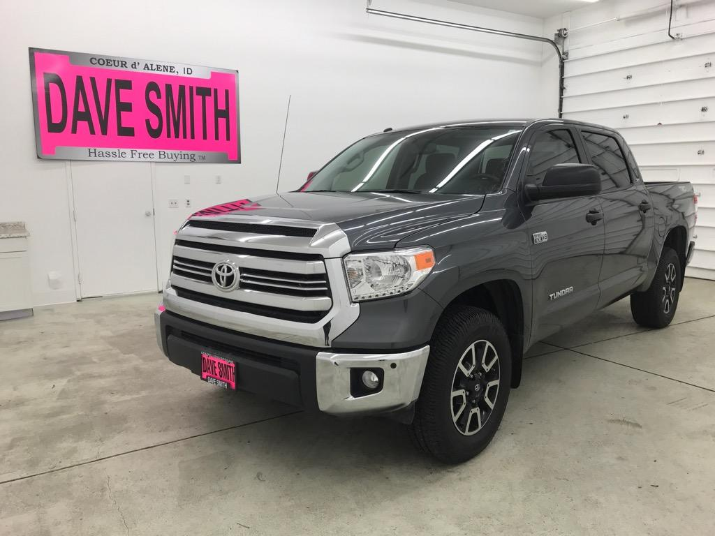 Pre-Owned 2017 Toyota TRD Crew Max Short Box