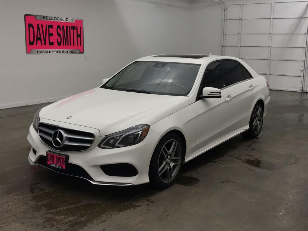 Pre-Owned 2014 Mercedes-Benz E350