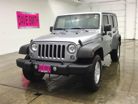 Pre-Owned 2017 Jeep Sport
