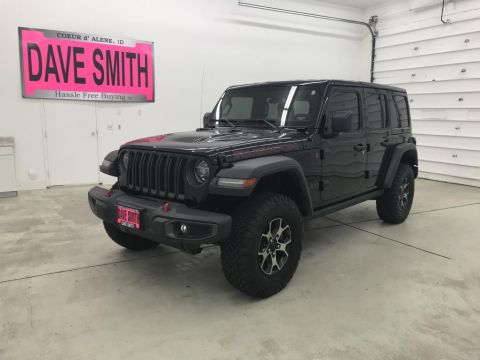 Pre-Owned 2018 Jeep Rubicon Unlimited
