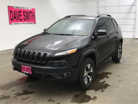 Certified Pre-Owned 2017 Jeep Trailhawk