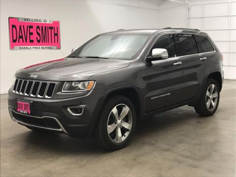 Certified Pre-Owned 2016 Jeep Limited