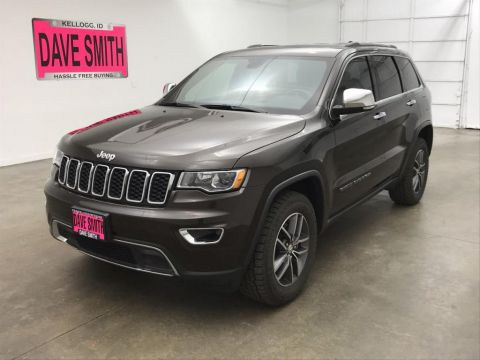 Certified Pre-Owned 2017 Jeep Limited