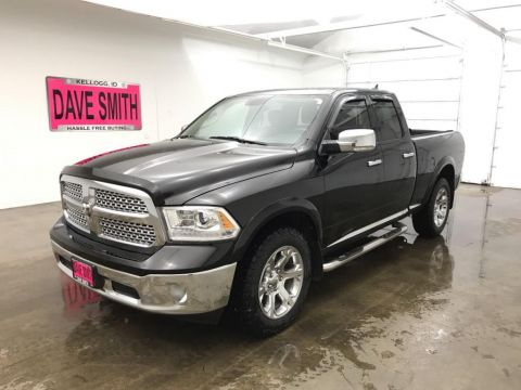 2013 Ram 1500 Laramie Quad Cab Short Box