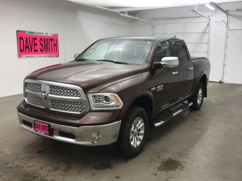 Pre-Owned 2015 Ram 1500 Laramie 4WD 4 Door Cab; Crew; Short Bed