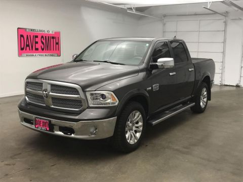 Certified Pre-Owned 2015 Ram Laramie Longhorn Crew Cab Short Box