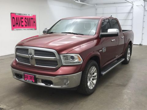 Pre-Owned 2015 Ram Laramie Longhorn Crew Cab Short Box