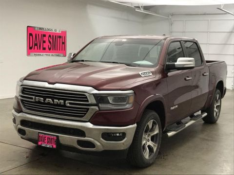 Pre-Owned 2019 Ram Laramie Crew Cab Short Box