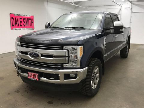 Pre-Owned 2017 Ford F-350 Super Duty Lariat Crew Cab Long Box 4WD 4 Door Cab; Crew