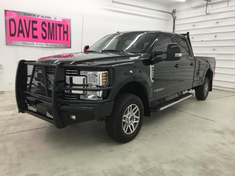 Pre-Owned 2018 Ford Lariat Crew Cab Long Box