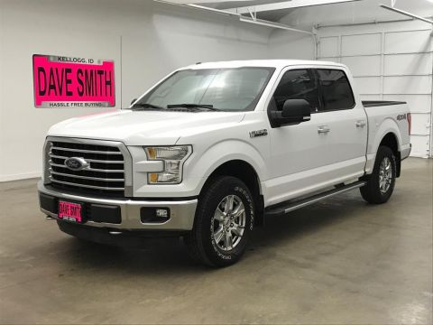 Pre-Owned 2015 Ford Crew Cab Short Box