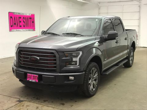 Pre-Owned 2016 Ford Lariat Crew Cab Short Box