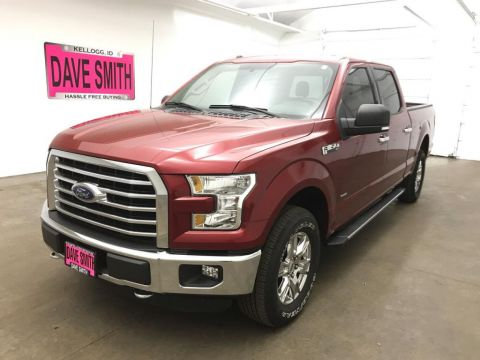 Pre-Owned 2016 Ford XLT Crew Cab Short Box