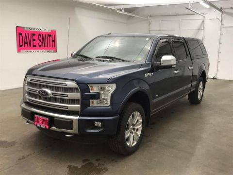 Pre-Owned 2016 Ford Platinum Crew Cab Short Box