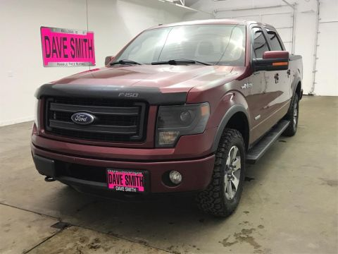 Pre-Owned 2013 Ford FX4 Crew Cab Short Box