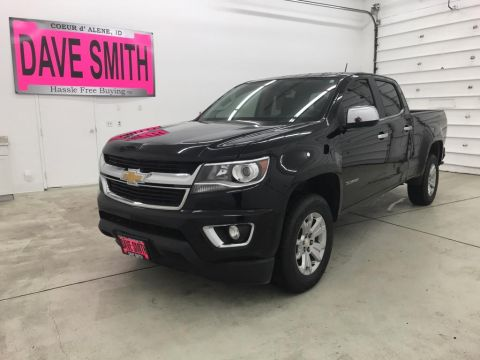 Pre-Owned 2016 Chevrolet LT Crew Cab Short Box