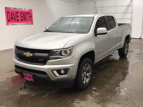 Pre-Owned 2018 Chevrolet Z71 Crew Cab Short Box