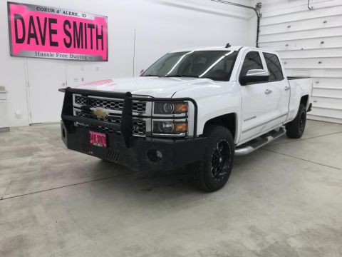 Pre-Owned 2014 Chevrolet Silverado 1500 LTZ Crew Cab Short Box 4WD 4 Door Cab; Crew