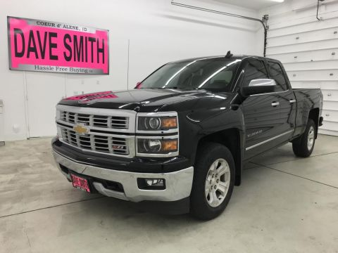 Pre-Owned 2015 Chevrolet LTZ Quad Cab Short Box
