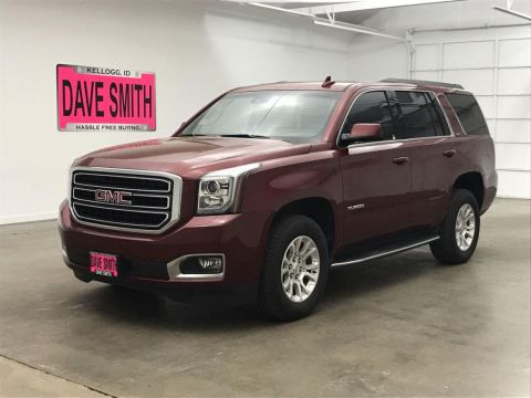 Certified Pre-Owned 2017 GMC SLT